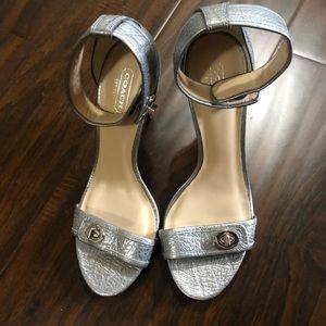 COACH haleigh heels